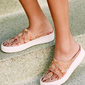 Free People Wynwood Brocade Slide Sneaker Size 9